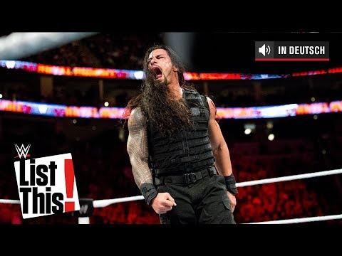 5 Superstars mit den meisten Royal-Rumble-Match-Eliminierungen: WWE List This! (DEUTSCH)