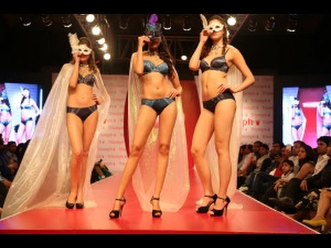 Triumph Lingerie Fashion Show In Mumbai