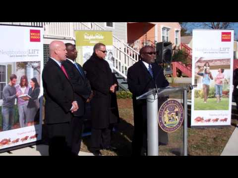 Mayor Landrieu joins Wells Fargo and others to announce New Orleans NeighborhoodLIFT program