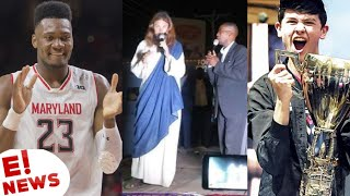 BRUNO FERNANDO DOES NOT GO TO THE WORLD OF BASQUET   JESUS CHRIST IN WORSHIP   BUGHA 1st FORTNITE CHAMPION