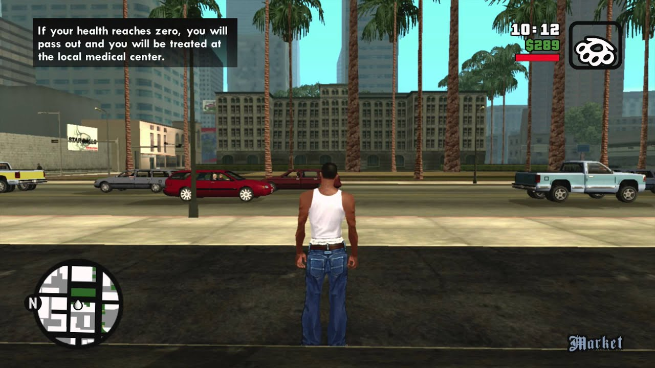 Grand Theft Auto San Andreas FREE ROAM 1 XBOX 360 Gameplay HD YouTube
