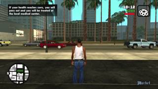 Grand Theft Auto: San Andreas - FREE ROAM #1 - XBOX 360 Gameplay - HD
