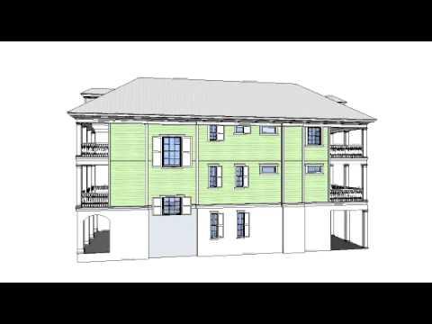 Myrtle Grove 3D SketchUp Model