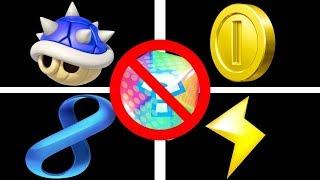 Mario Kart 8 UNUSED Battle Mode Items!
