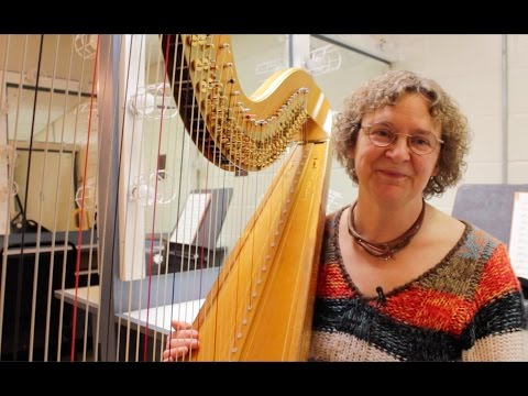 Celestial sounds: the life of a harpist