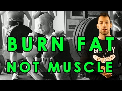 How to Cut Without Losing Muscle   Lose fat & Maintain Muscle   Burn Fat & Gain Muscle while Cutting