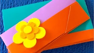 DIY. Оригами кошелек ✿Как сделать кошелек из бумаги Своими Руками✿