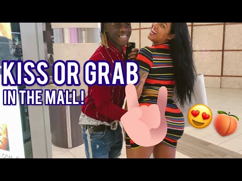 KISS OR GRAB 🍑😍 ATLANTA MALL EDITION | PUBLIC INTERVIEW