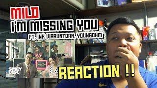 MILD - I'm Missing You (Feat. INK WARUNTORN, YOUNGOHM) | Reaction by Phuwa9