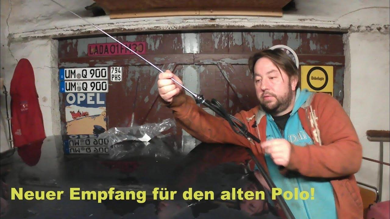 tomzz Audio 1000-004 KFZ Antenne Dachantenne 16V f/ür Audi Verst/ärker VW 60 Grad Opel Skoda Raku 2 II Anti Noise Stab 40cm Seat
