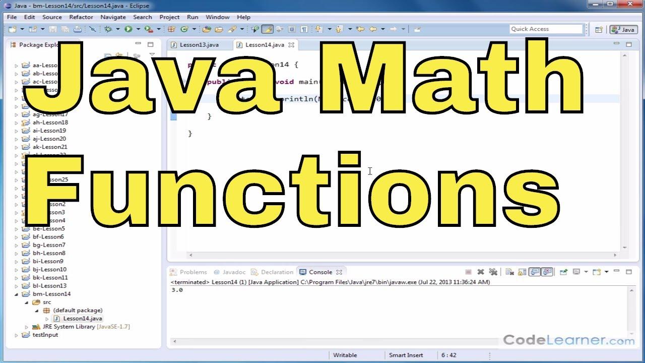 Java Tutorial - 14 - Rounding Numbers