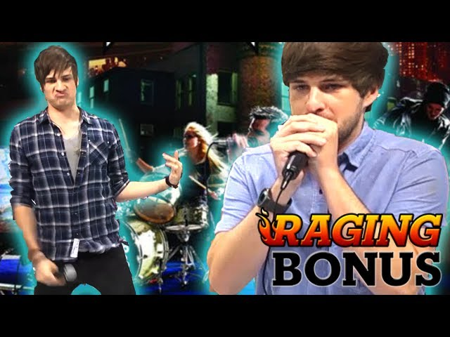 Rock Band Live Performance At Vidcon Raging Bonus