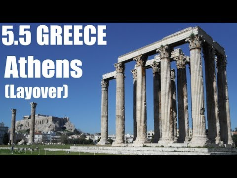 6 Hour Layover In Athens - GREECE : AWSM S01E07.5