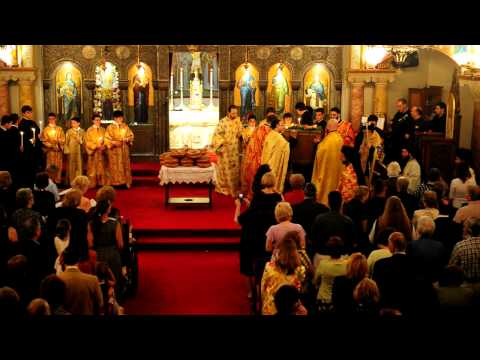 Ascension Vesper Service, Greek Orthodox Church of Our Savior, Rye, New York