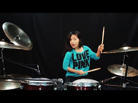 Maroon 5 - One More Night - Drum Cover by Nur Amira Syahira