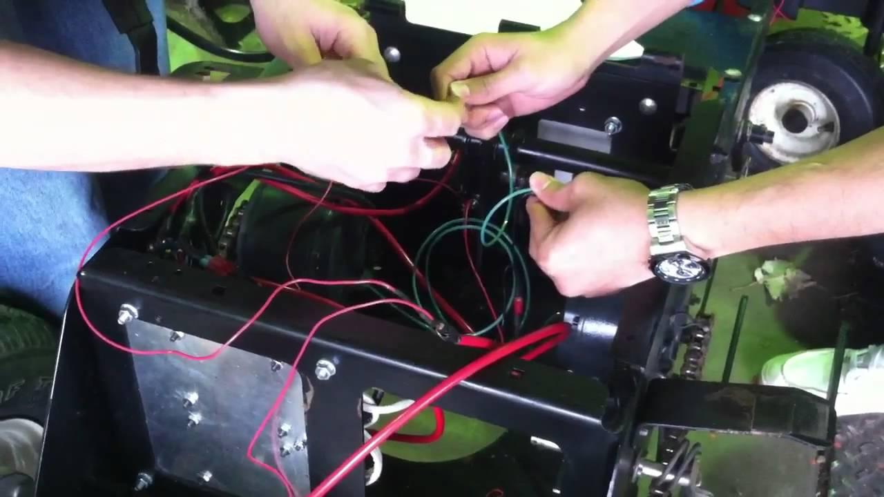 dixon lawn mower wiring diagram [ 1280 x 720 Pixel ]