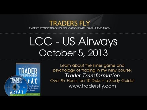 US Airways - LCC Stock Trading Stock Evaluation - Oct 5, 2013