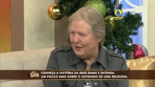 TV Aparecida - entrevista com Sister Diane