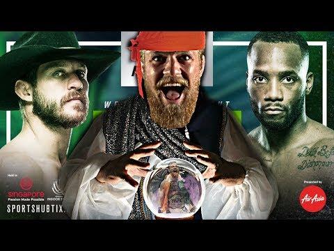 UFC Fight Night Singapore Predictions
