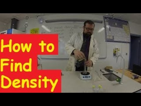 How to Find the Density of a Solid or Liquid