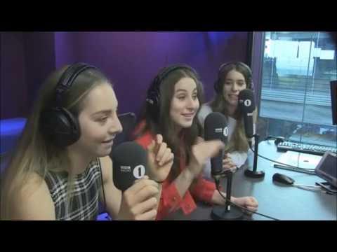 Haim Grimmy BBC Radio 1 2017