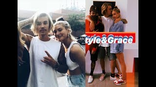 Justin Bieber & Hailey Baldwin hugging, kissing & with fans in New York - June 30 & July 1, 2018