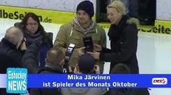 Huskies-Torwart Mika Järvinen als Spieler des Monats ausgezeichnet
