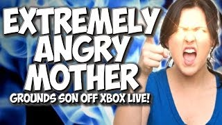 COD GHOSTS: EXTREMELY ANGRY MOTHER GROUNDS SON OFF XBOX LIVE!! MOM TROLLING!