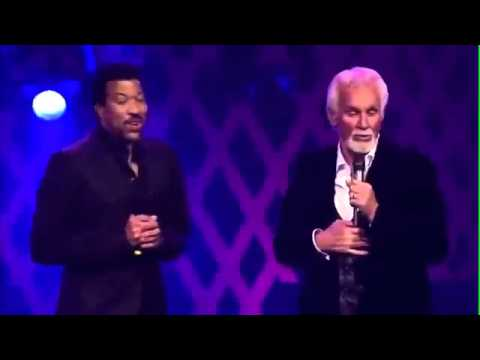 Kenny Rogers & Lionel Richie - Lady LIVE.