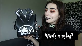 What's In My Bag | Goth Edition