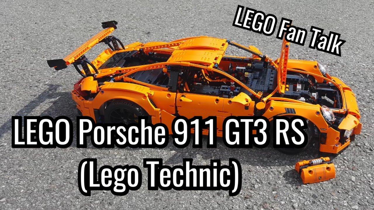 LEGO Porsche 911 GT3 RS (Technic): Lego Fan Talk Ausgabe 3 ...