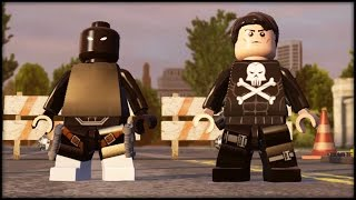 Lego marvel avengers - customs - creating punisher & agent venom!
