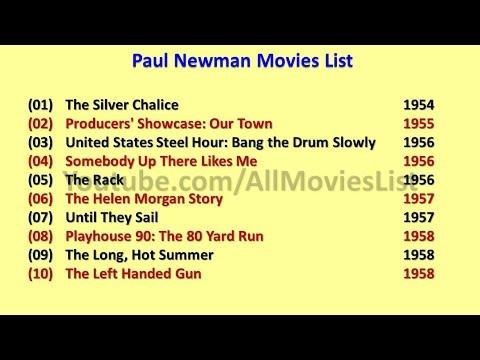 Paul Newman Movies List