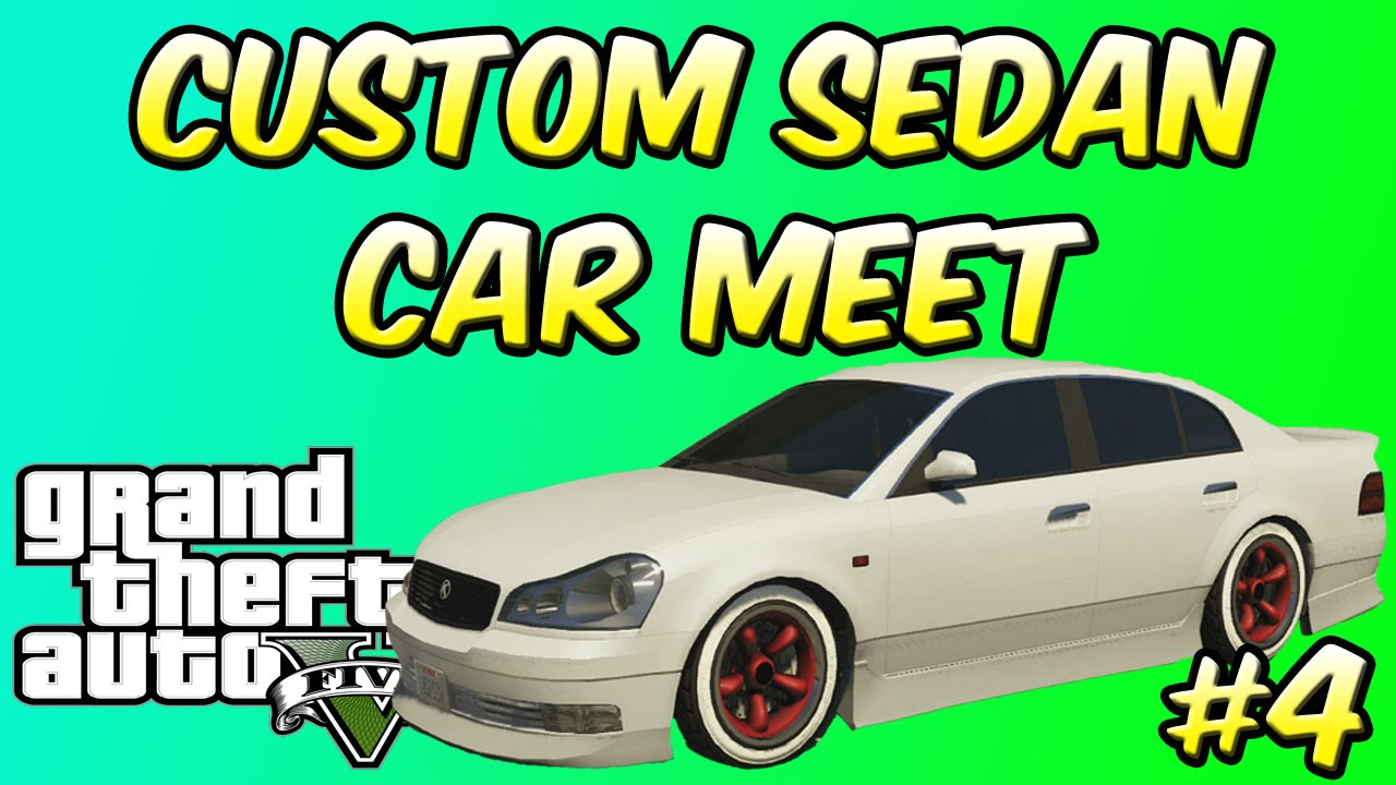 Gta V Online Custom Sedan Car Meet Xbox Xbox One Car