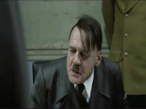 Hitler finds out the Blues Brothers got away!