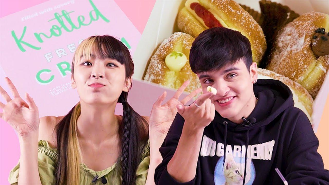한국에서 요즘 핫한 도넛을 먹어본 외국인 반응?! (ft. 노티드, 랜디스, 올드페리도넛)