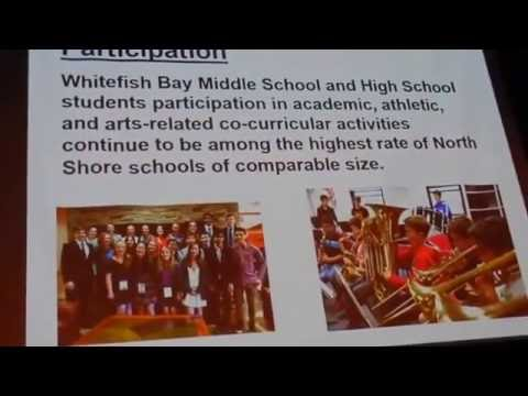 """""""State of the WFB School District"""" - John W. Thomsen - Administrator September 7, 2016"""