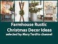 Farmhouse Rustic Christmas Decorations Ideas - Winter Decorating Ideas