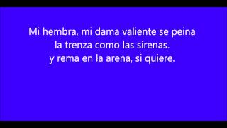 Mi marciana letra - Alejandro Sanz