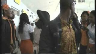 Le mythique groupe de musique guinéen Bembeya Jazz est arrivé à Abidjan