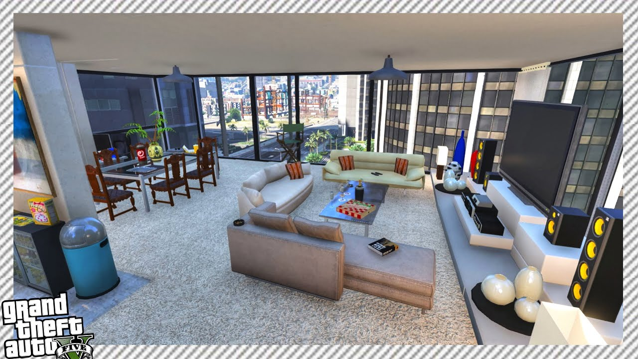 Detailed Downtown Apartment - GTA 5 MOD - YouTube