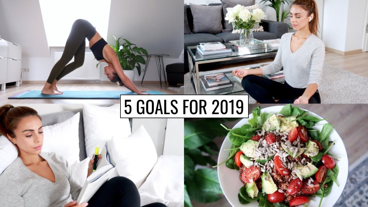 HEALTHY HABITS & GOALS FOR 2019 (Starting Now) | Annie Jaffrey