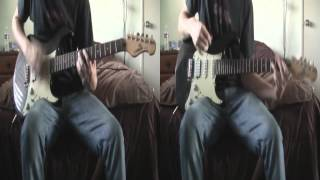 Stand Up by All That Remains Dual Guitar Cover with Tabs