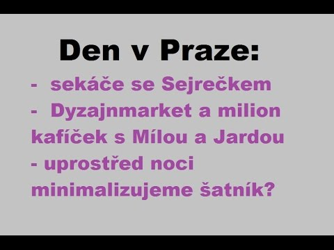 Vlog: Den v Praze :-)