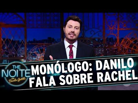 """The Noite (28/09/16) - Monólogo: Danilo fala sobre estar """"conhecendo melhor"""" a Rachel Sheherazade"""