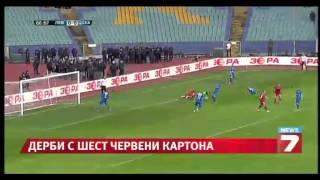 FC Levski - CSKA Sofia 0:1 Highlights 8.3.2014