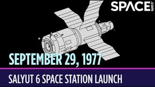 OTD in Space - Sept. 29: Salyut 6 Space Station Launch
