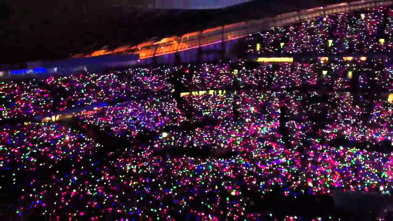 Coldplay Wristbands Paradise Etihad Stadium Manchester