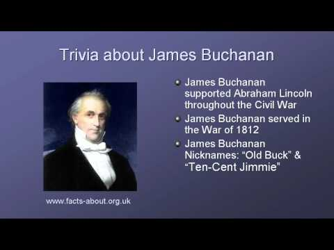 President James Buchanan Biography