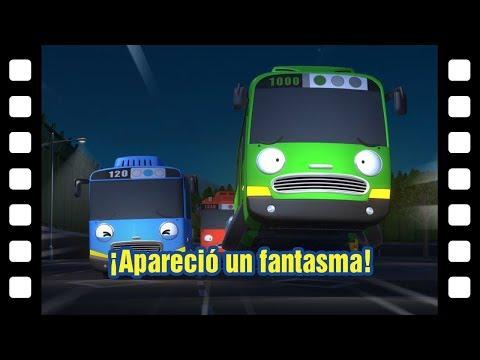 ¡Apareció un fantasma! l Teatro de Tayo #33 l Tayo el pequeño Autobús Español